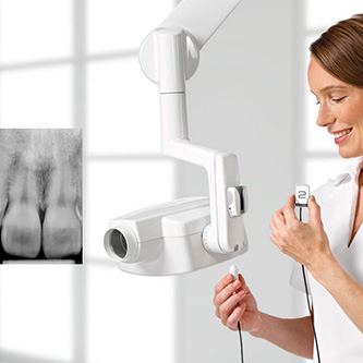 intraoral x-rays