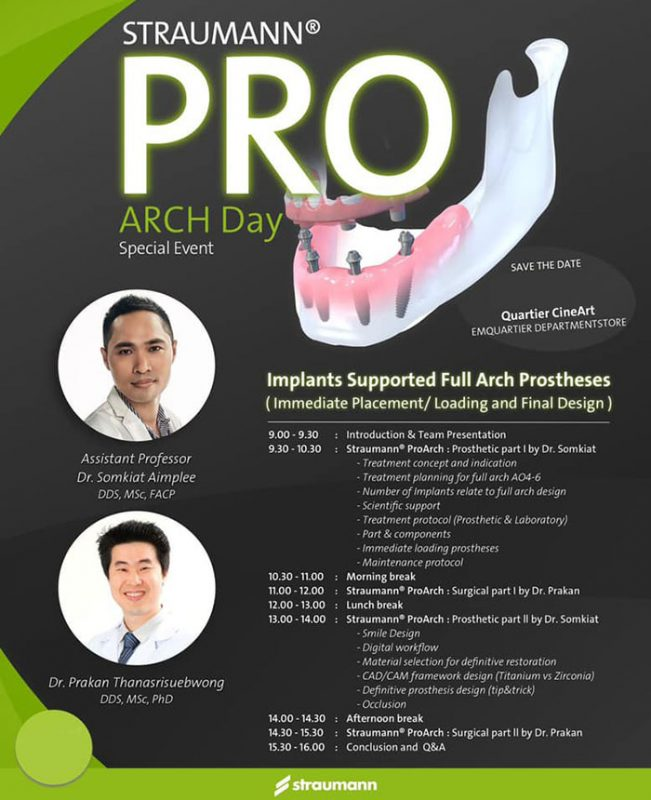 Pro Arch implant training